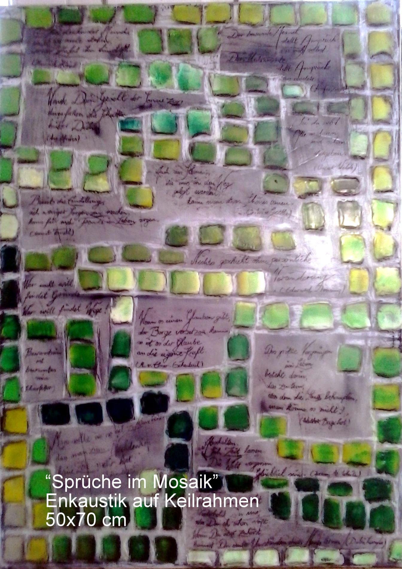Sprüche im Mosaik Verkauft)